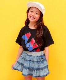 ANAP KIDS/斜ロゴ配色Tシャツ/501137154