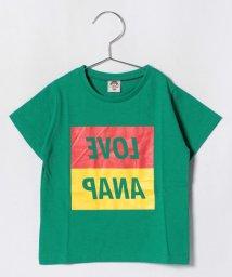 ANAP KIDS/配色BOXロゴTシャツ/501137156