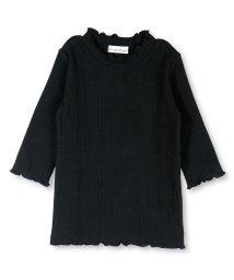 branshes/針抜きストライプ7分袖Tシャツ/501146984
