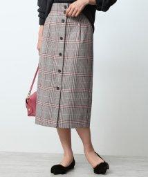 ROPE' mademoiselle/【セットアップ対応】【RIOPELE】フロントボタンスカート/501149087