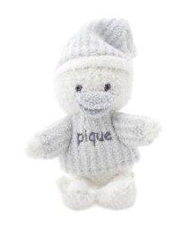 gelato pique Kids&Baby/'ベビモコ'アヒル baby ガラガラ/501149585