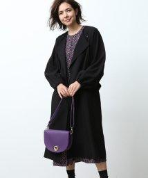 ROPE' mademoiselle/袖ボリュームノーカラーコート/501149628