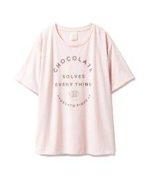 gelato pique/レーヨンロゴTシャツ/501150348