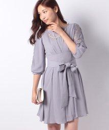 axes femme/タックデザインドレス/500707685