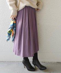 SHIPS WOMEN/【手洗い可能】カラーボリュームスカート◇/501156726