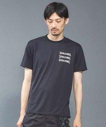 5351POURLESHOMMES/【SPALDING×5351】ロゴデザインTシャツ/501157783
