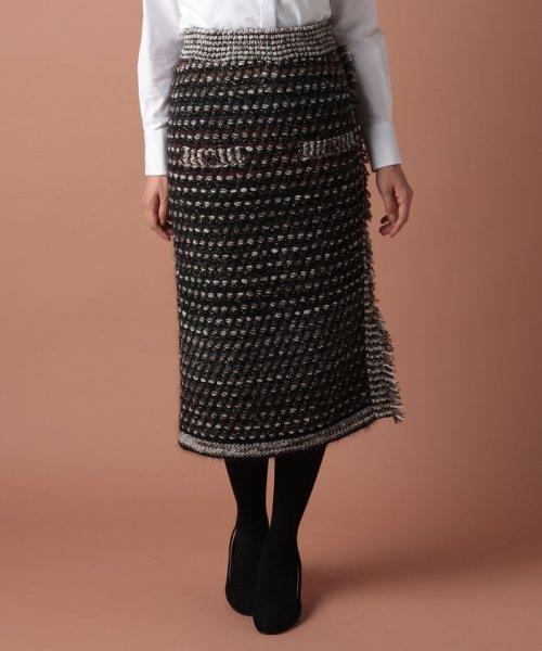 OLD ENGLAND(オールド イングランド)/ツィードニットスカート/58520091