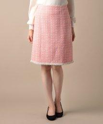 ELISA/ウールロービングツィードスカート/501026963