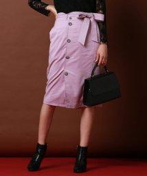 VICKY/【スタッフおすすめ】スエードタイトスカート/501126172