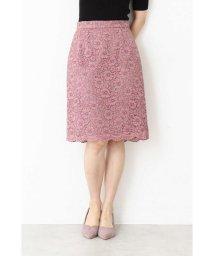 PROPORTION BODY DRESSING/レースオンチェックタイトスカート/501150876