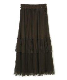 PROPORTION BODY DRESSING/《EDIT COLOGNE》マキシチュールプリーツスカート/501157946