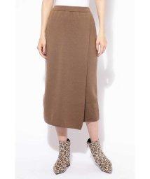 ROSE BUD/[otonaMUSE12月号掲載]ニット巻き風スカート/501157986