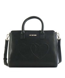 LOVE MOSCHINO/【LOVE MOSCHINO】JC4294 EMBOSSED HEART ハンド BK 000/501159127