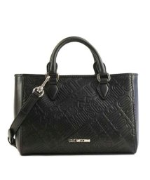 LOVE MOSCHINO/【LOVE MOSCHINO】JC4225 EMBOSSED LOGO ハンド BK 000/501159141