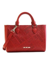 LOVE MOSCHINO/【LOVE MOSCHINO】JC4225 EMBOSSED LOGO ハンド RED 500/501159142