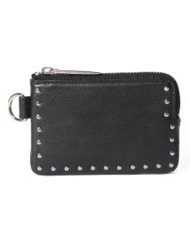 PATRICK STEPHAN/Leather coin case 'corner studs' KS/501134224