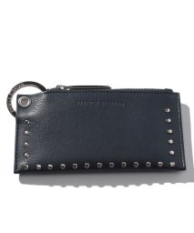 PATRICK STEPHAN/Leather key case&holder 'corner studs' KS/501134226
