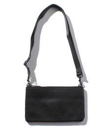 PATRICK STEPHAN/Leather minimini sacoche 'cornerstuds'KS/501134228