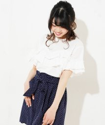 NICE CLAUP OUTLET/ふりふりトップス/501138680