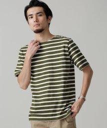 nano・universe/シルケットボーダーTシャツS/S/501147300
