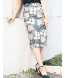 dazzlin/バリエーションチェックナロースカート/501150913