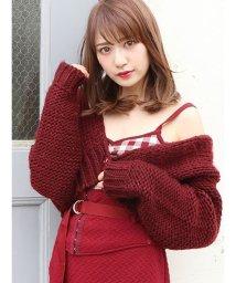 dazzlin/手編み風ざっくりカーディガン/501160762