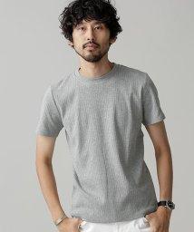 nano・universe/Anti Soaked ヘビークルーワイドリブTシャツ/501161532