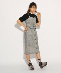 PINK-latte/【SET】ベアトップ+タイトスカート セット/501161565