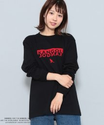 JUNRed/KANGOL別注フロッキーロゴTシャツ/501161752
