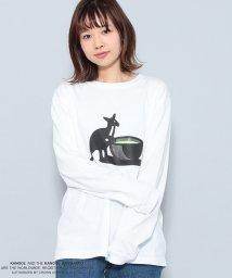 JUNRed/KANGOL別注 'green tea' T シャツ/501161754