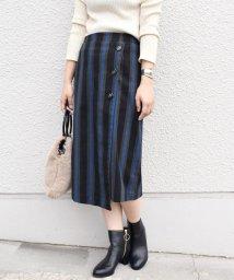Khaju/Khaju:ストライプラップタイトスカート/501161803
