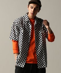JOURNAL STANDARD/THE YOUTHLESS PRINT TWILLWORK オープンカラーシャツ/501162268