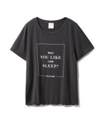 gelato pique/レーヨンロゴTシャツ/501162292