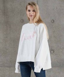 LEVI'S LADY/METALLIC FOIL PRINT SWTS OFF WHITE WITH/501124955