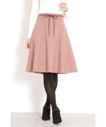 PROPORTION BODY DRESSING/【CanCam 11月号掲載】サキソニーストレッチ合皮リボンスカート/501162749