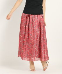 STRAWBERRY FIELDS/プラチナフラワー スカート/501120434
