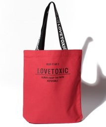 Lovetoxic/ロゴトートバッグ/501141649
