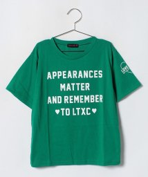 Lovetoxic/ロゴプリントベーシックTシャツ/501147047