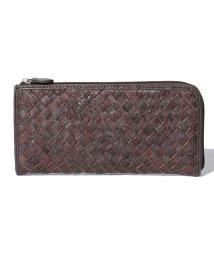 gino marina luxe/オーストリッチLファスナー財布/501147788