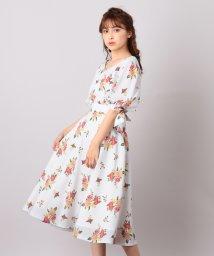 MIIA/【セットアップ対応商品】ボタニカルフラワーサーキュラースカート/501158236