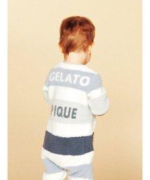 gelato pique Kids&Baby/'ベビモコ'4ボーダー baby ロンパース/501164874