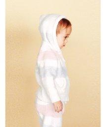 gelato pique Kids&Baby/'ベビモコ'4ボーダー baby パーカ/501164877