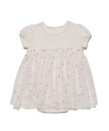 gelato pique Kids&Baby/ハートチュール baby ロンパース/501165042