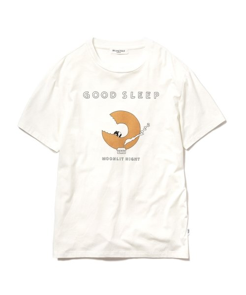 GELATO PIQUE HOMME(GELATO PIQUE HOMME)/【GELATO PIQUE HOMME】GOOD SLEEPワンポイントTシャツ/PMCT184960