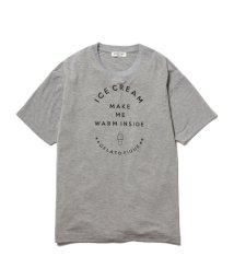GELATO PIQUE HOMME/【GELATO PIQUE HOMME】レーヨンロゴTシャツ/501165147