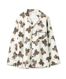 GELATO PIQUE HOMME/【GELATO PIQUE HOMME】テディベアガラパジャマシャツ/501165160