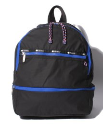 LeSportsac/EXPANDABLE BACKPACK ブラックバンジー/LS0020579