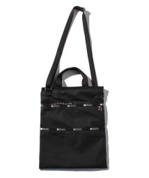LeSportsac/SMALL CROSSBODY TOTE ブラックバンジー/LS0020581