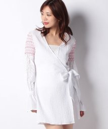 actuelselect/【THE FIFTH】RIVERINE WRAP DRESS/501160208