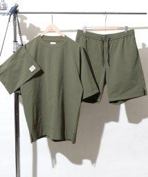 coen/(3点セット)ストレッチクルーネックTシャツサマーセットアップ(一部WEB限定カラー)/501162836